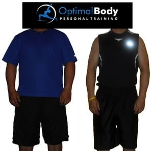 Weight Loss Success Story Sudbury Personal Training Studio - G Before&After